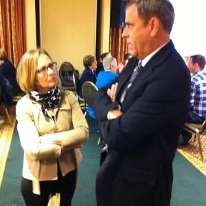 QCGN Tweet: @CdnHeritage Always a pleasure to have Senator Seidman at our events! C-c: @danlamoureux67
