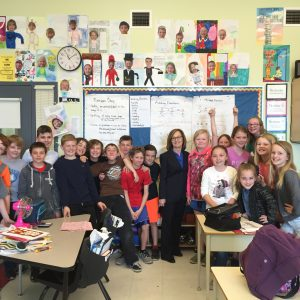Visite à l'école publique Westwind